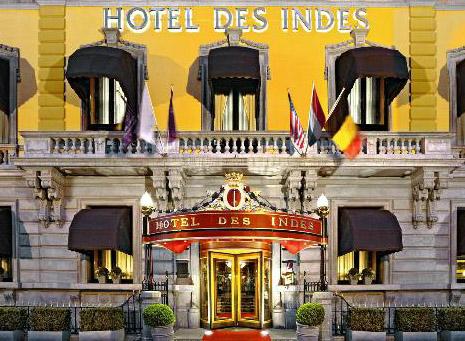 Hotel Des Indes yang bersejarah.