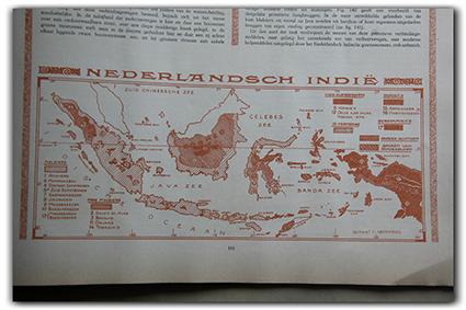 Peta Hindia Belanda